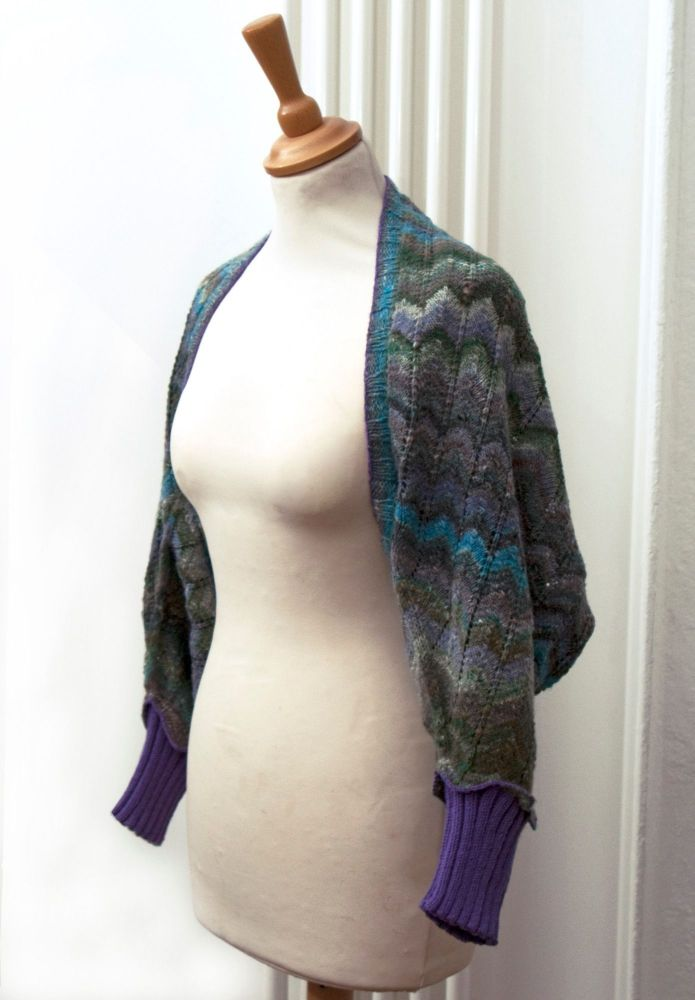 Miss Galloni Shrug PDF Pattern