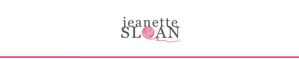 JeanetteSloanDesign, site logo.