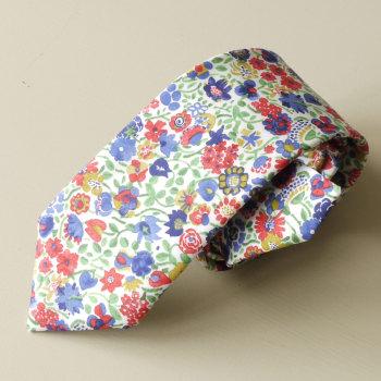 Floral Liberty tana lawn tie - Kaylie Sunshine