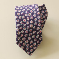 Handstiched Liberty tana lawn tie - Bellis