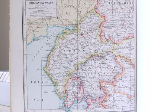 map cumbria