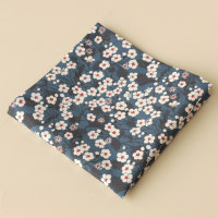 Gentleman's pocket square - Liberty Mitsi blue