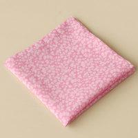 Gentleman's pink pocket square - Liberty tana lawn Glenjade