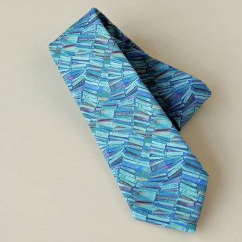 Gentleman's hand-stitched blue tie - Dr Tulloch