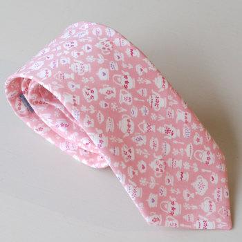 Hand-stitched Liberty tana lawn tie - Suzy Elizabeth