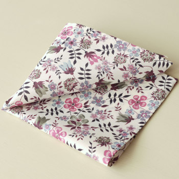 Liberty print floral pocket square - Edenham