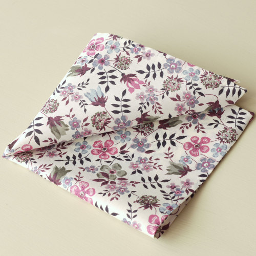 Liberty print floral pocket square - Edenham