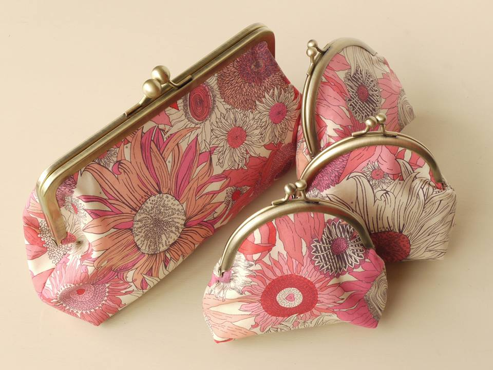 Liberty print bags and purses