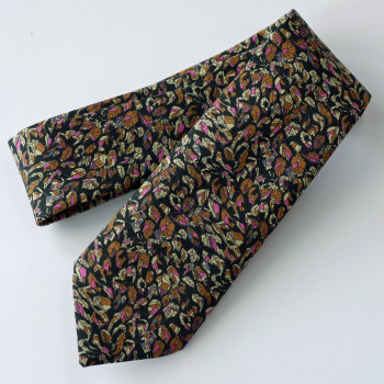 Liberty print tie - autumn leaves - Rachel de Thame