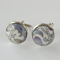 Liberty design Lodden cufflinks - Lodden grey