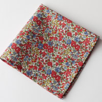 Floral pocket square - Liberty tana lawn Emma and Georgina
