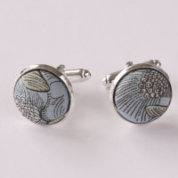 Lucy Daisy floral Liberty cufflinks