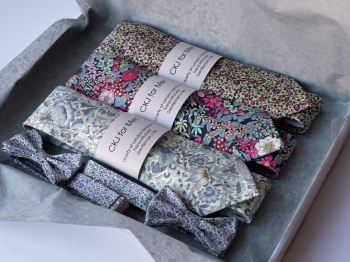 Boxed wedding ties