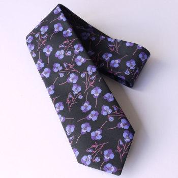 Ros design floral Liberty print tana lawn tie