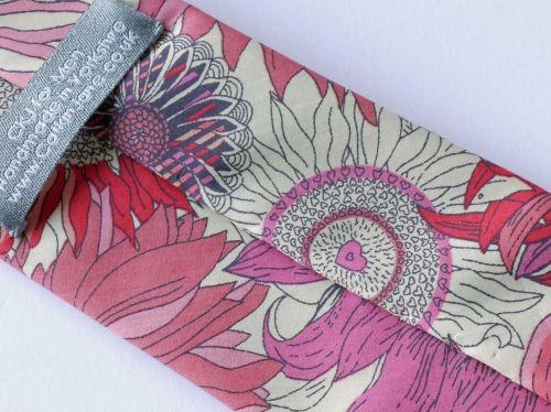 susanna Liberty tie - pink floral tie