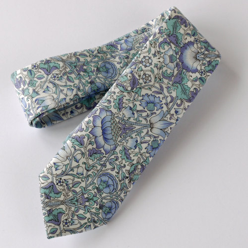 Liberty tana lawn tie - Lodden light blue