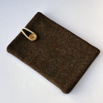 Donegal Tweed iPad mini case - brown