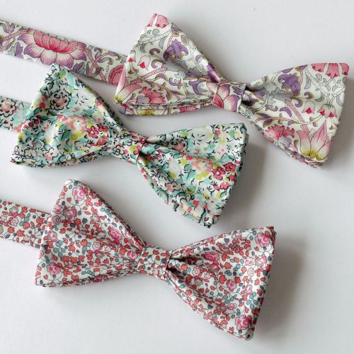 Liberty-print-bowties