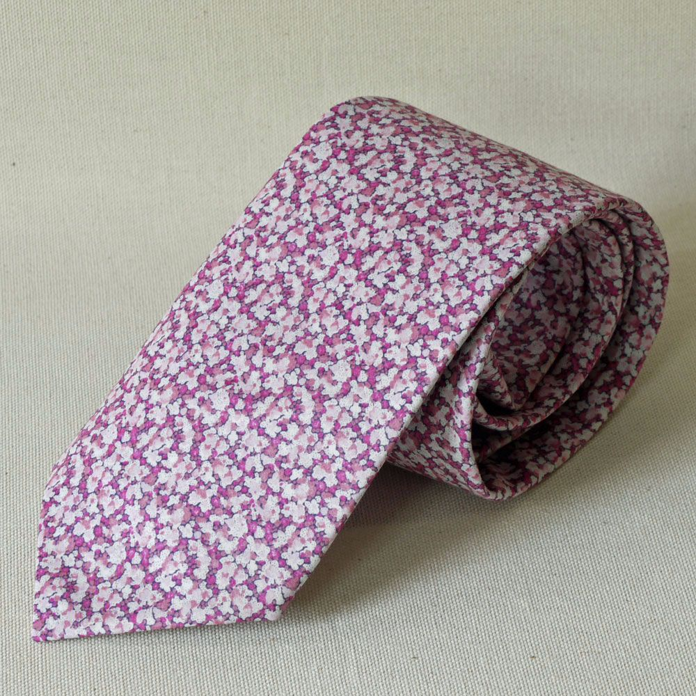Custom order for 3 handmade Liberty tana lawn ties with matching pocket squ