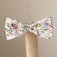 Liberty print Wild Flowers bow tie