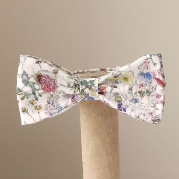 Liberty print Wild Flowers bow tie