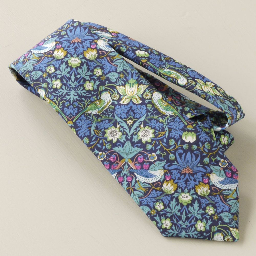 Custom order for 7 regular width hand-stitched ties with 2 matching pocket