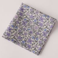Floral pocket square - Liberty tana lawn Meadow