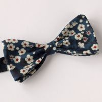 Liberty print bow tie - Mitsi blue