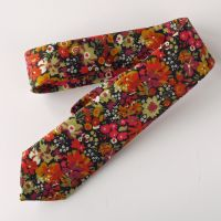 Liberty tana lawn tie - Manuela orange