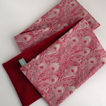 Liberty Hera and Red Velveteen Scarf