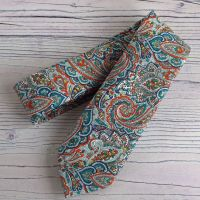 Gentleman's hand-stitched paisley tie - Tessa - made from Liberty fabric