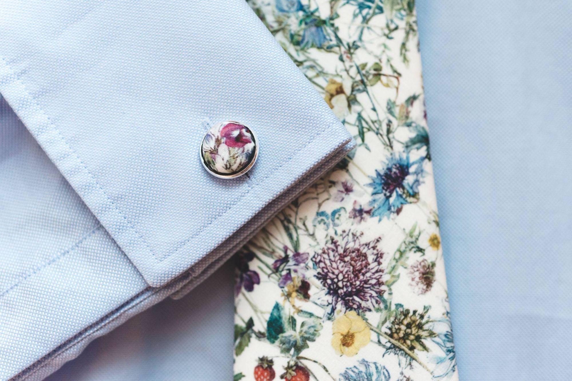 matching cuff-links