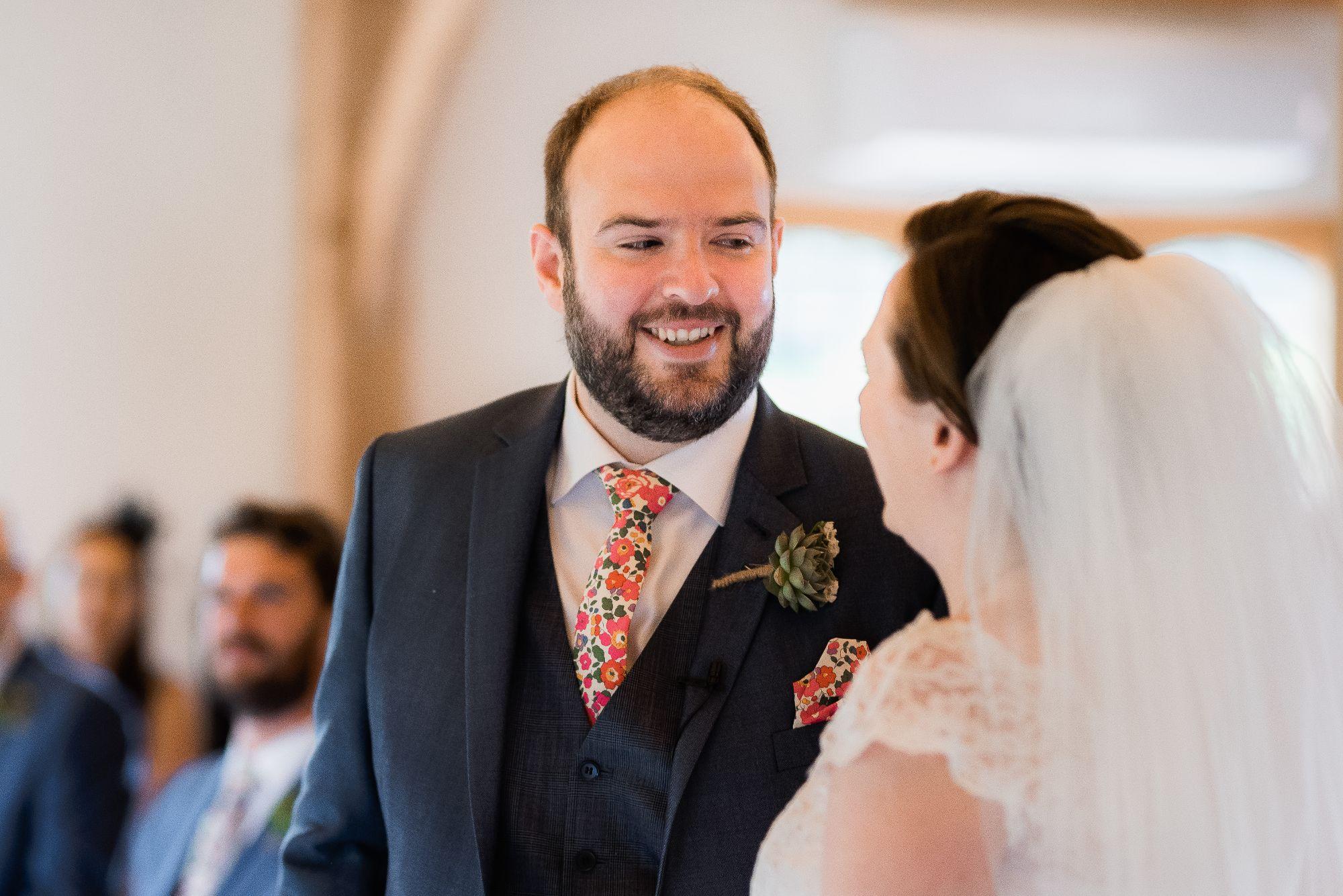 Custom made wedding tie