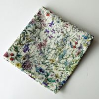 Floral Liberty print tana lawn pocket square - Wild Flowers