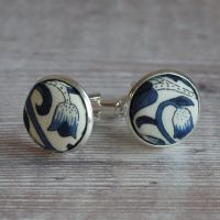 Liberty design Lodden cufflinks - Lodden navy