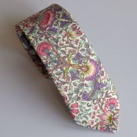 Liberty tana lawn tie - Lodden purple