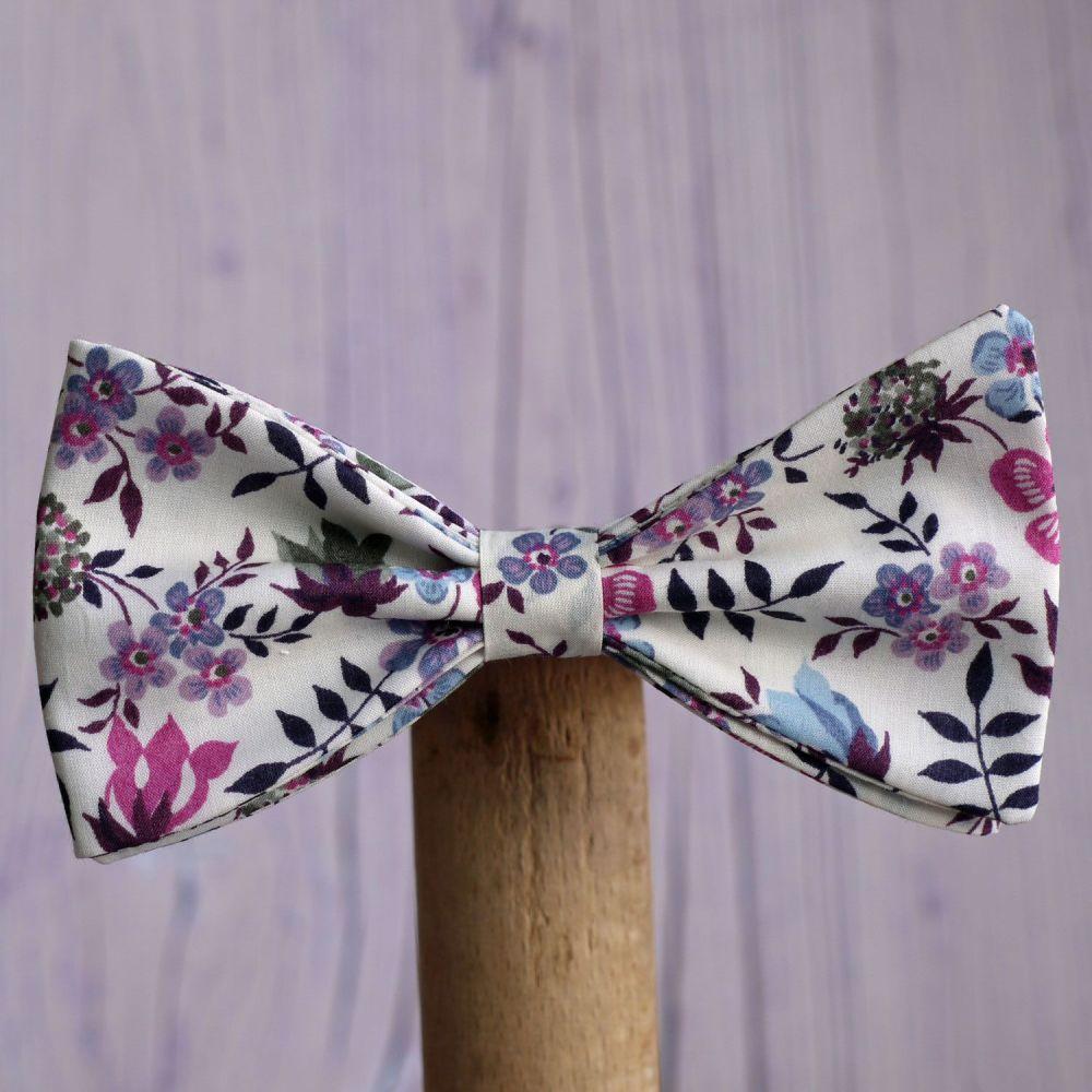 Floral Liberty print bow tie - Edenham