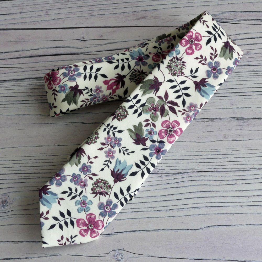 Gentleman's hand stitched tie - Edenham