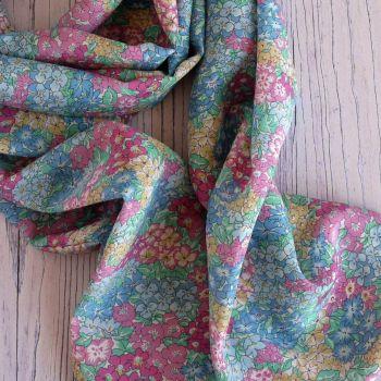 Liberty Garden Wonderland silk crepe de chine scarf