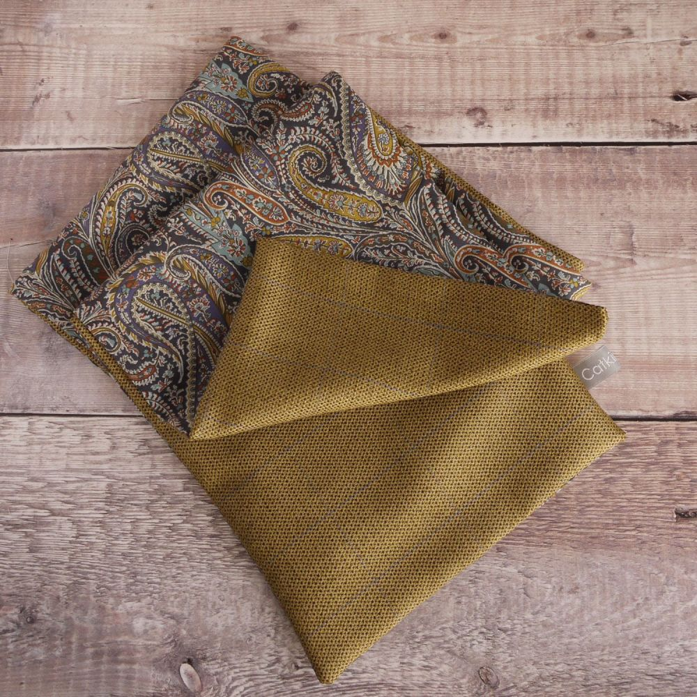 Liberty Felix & Isabelle paisley and silk and cashmere scarf