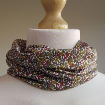 Emilias Flowers jersey scarf