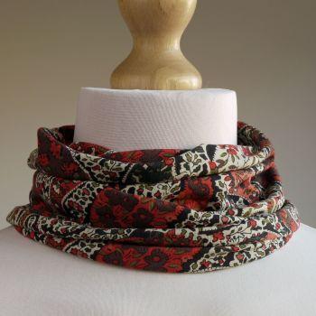 Liberty paisley Bourton jersey scarf
