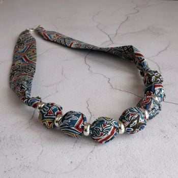 Gambier Liberty print necklace