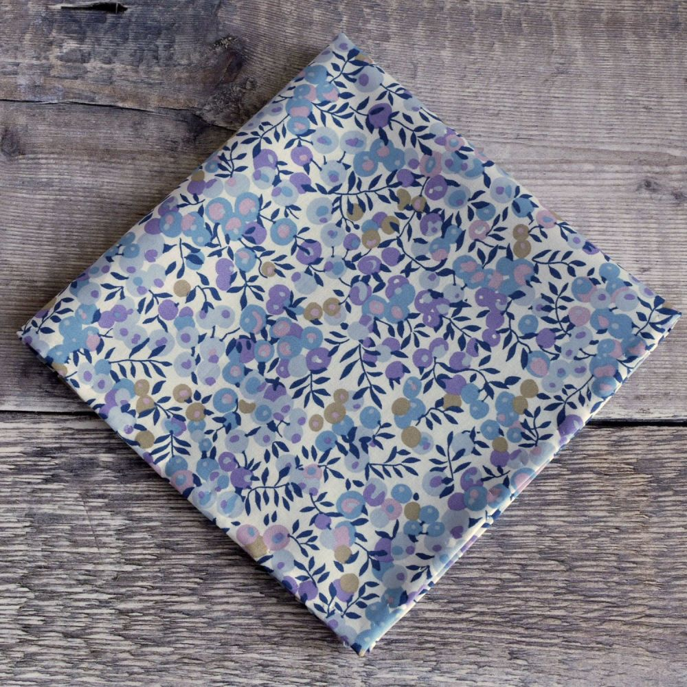 Liberty print Wiltshire Berry lilac pocket square