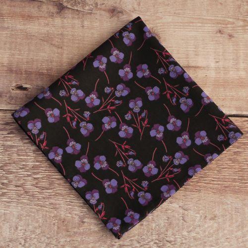 Floral Liberty print pocket square - Ros