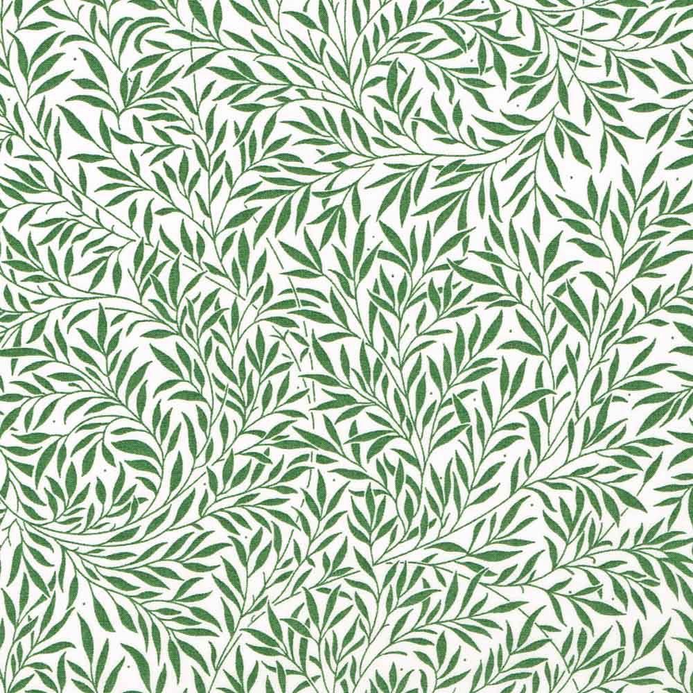 Liberty print snap clutch bag - Willow Wood green