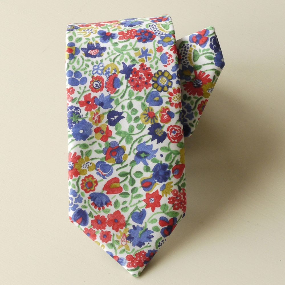 Custom order for 1 adult and 1 boy's hand-stitched tie with matching pocket