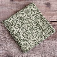 Liberty Willow Wood green pocket square