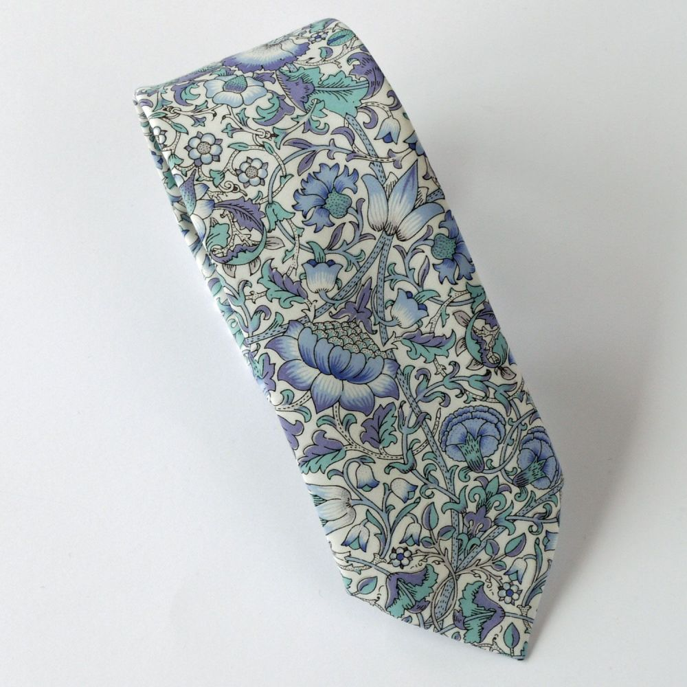 Custom listing for 13 Liberty tana lawn ties -  Lodden light blue