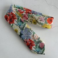 Floral Liberty print tie - Meadow Melody
